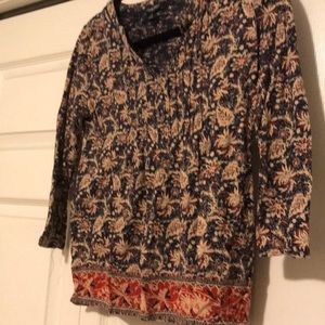 Lucky Brand Tops - 🎃 5 for $15 sale! Lucky Brand: 3/4 sleeve Top